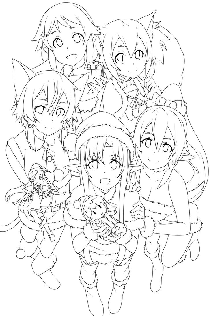 Sword Art Online Merry Christmas
