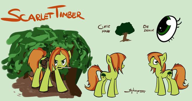 Scarlet Timber