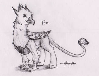 [Sketch Commission] Tek by Shikogo
