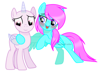 I really like you ...{Collab} by A-mazingD-asher