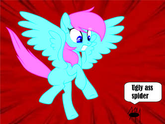 Whenever i see a spider by A-mazingD-asher