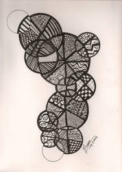 Circles Doodle by NanaCasas