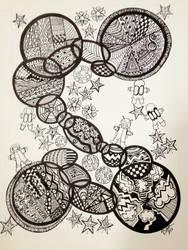 Space Doodle by NanaCasas