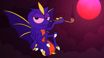 The Firefly Queen Basks in the Lunar Eclipse