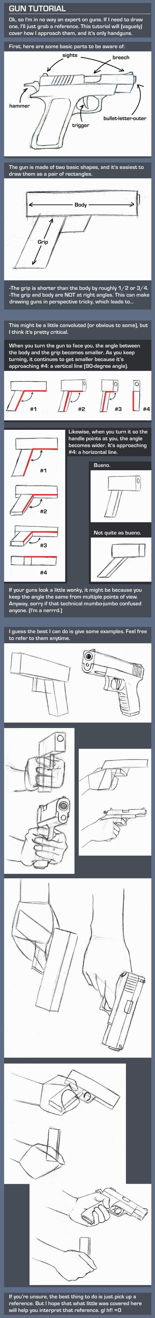 Gun 'Tutorial' by TheAmoebic
