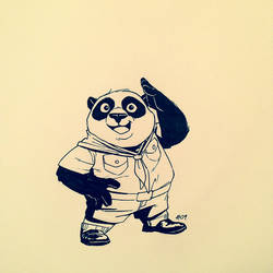 Inktober 2013 #09 by TheAmoebic