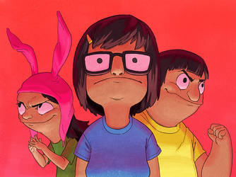 The Belcher Kids by TheAmoebic