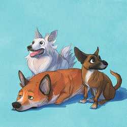 Meo's Dogs by TheAmoebic