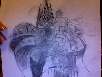 Lich King by fyreflyes