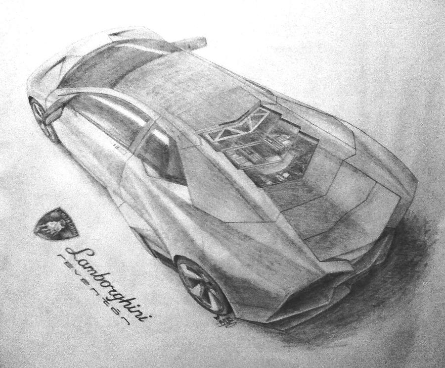 lamborghini reventon drawings - photo #19