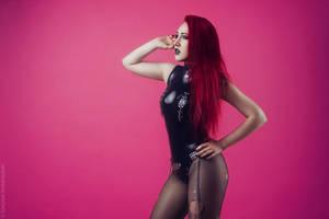Fetish Gothgirl (Pink) by Edaliana