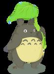 Totoro by minipolkadots