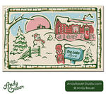 2012 Tee Lake Resort Christmas Card