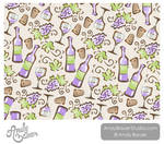 Wine Surface Pattern by Andy Bauer