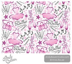 Ballet Surface Design by Art-by-Andy