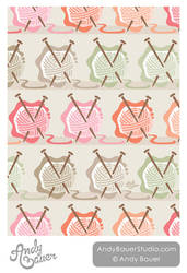 Knitting Yarn Surface Pattern
