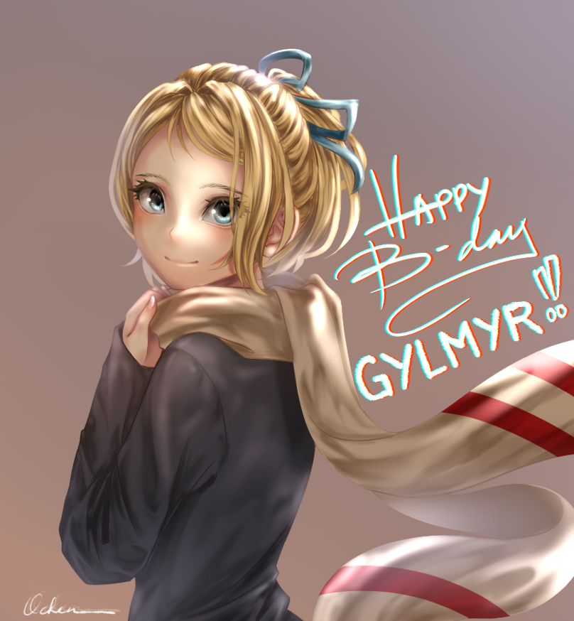 Happy Birthday, Gylmyr!