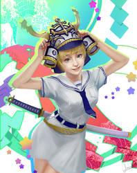 Sailor x Samurai by AppleMoonTea