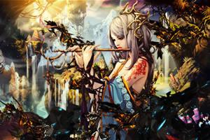 Flute-girl1 by BriGht-liGht-NSH