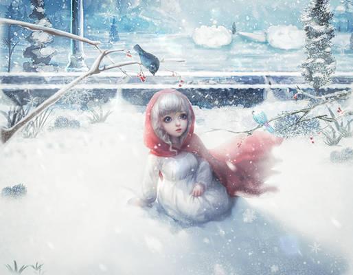Single under the snow