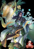 Render -legendary gazelle fighter by BriGht-liGht-NSH