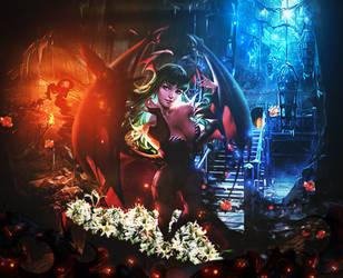 Girl Vampire Beautiful by BriGht-liGht-NSH