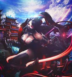 stunning Girl Ninja by BriGht-liGht-NSH