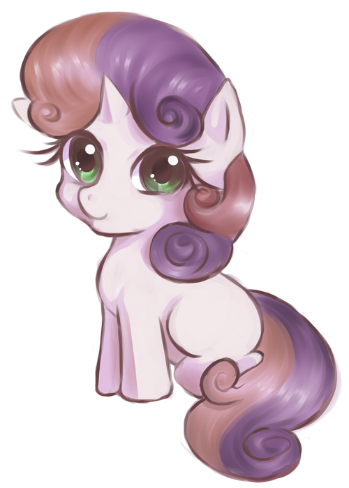 Sweetie Belle by CielaArt