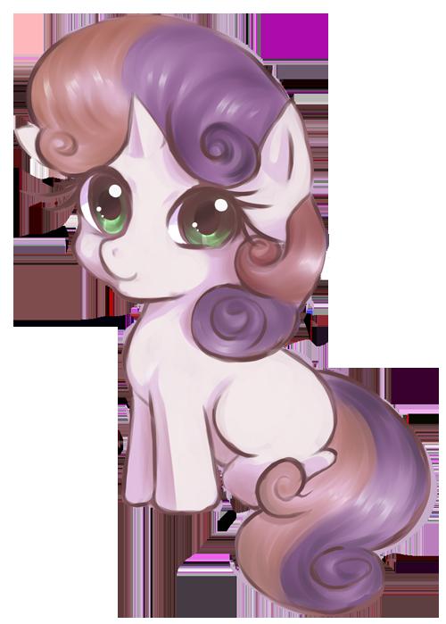 Sweetie Belle by CielaArt