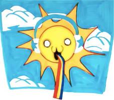 sun is love by iMohawk