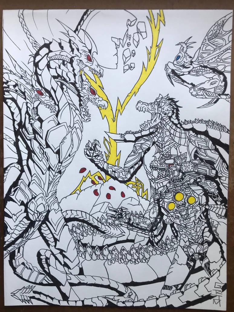 RWBY: Godzilla Monster Apocolypse PT 3 by GrimSoldier001 on DeviantArt