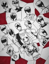 Power Rangers Multi X-Over