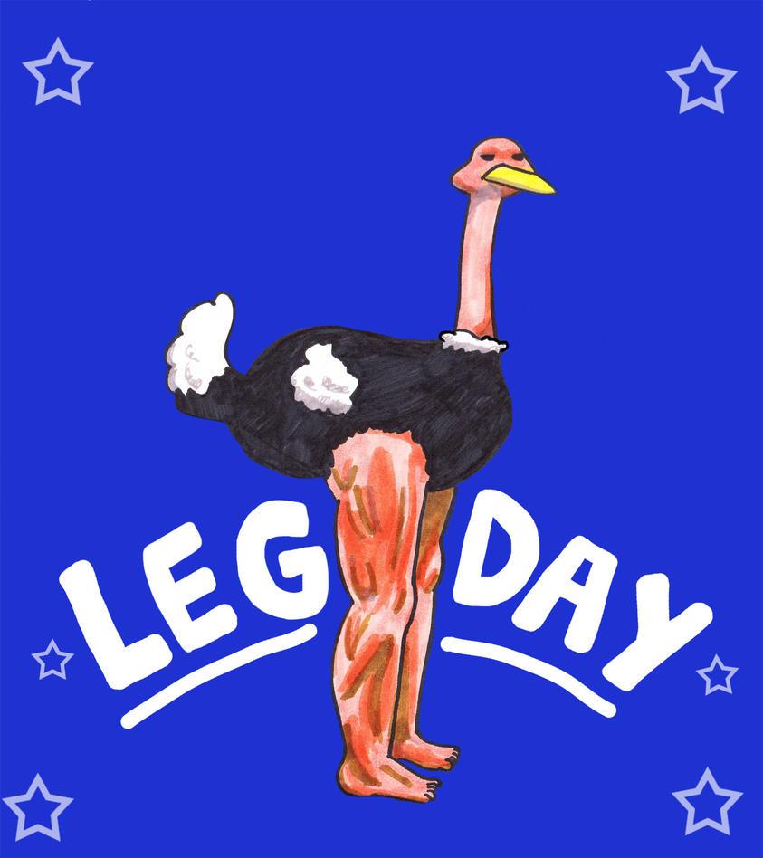Leg Day by Bobalooshrimp