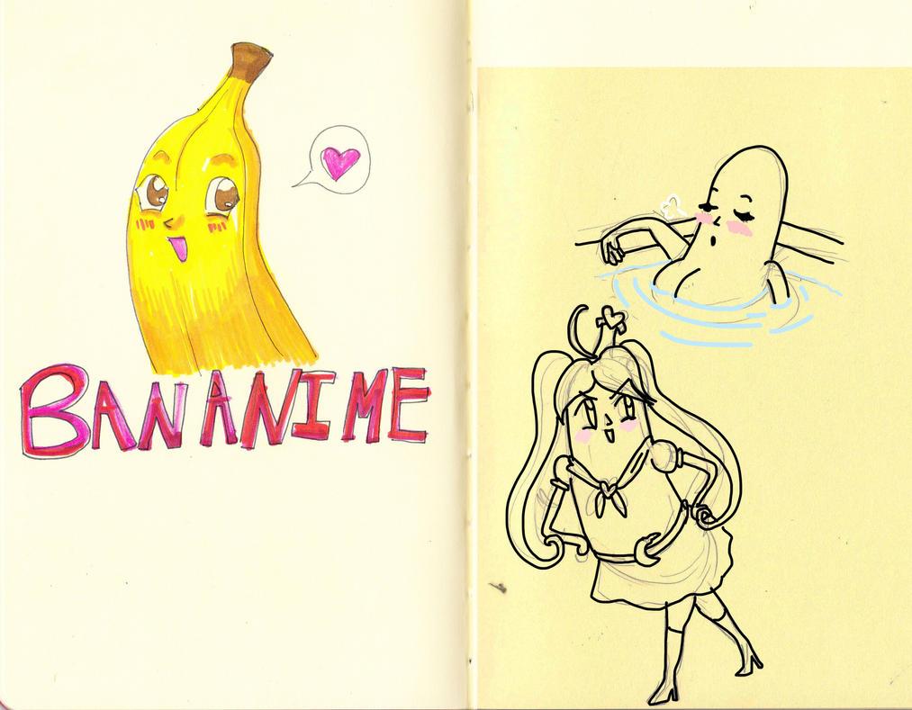 Bananime by Bobalooshrimp