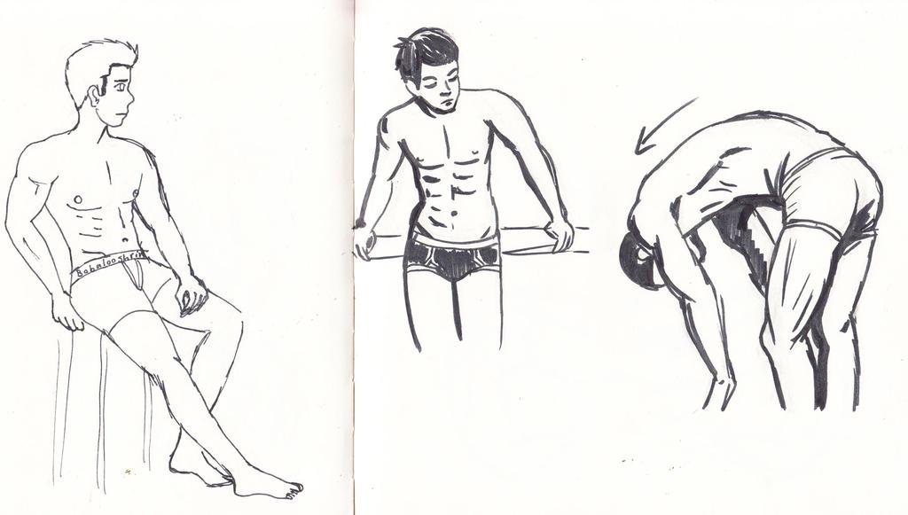 Male Anatomy Practice by Bobalooshrimp
