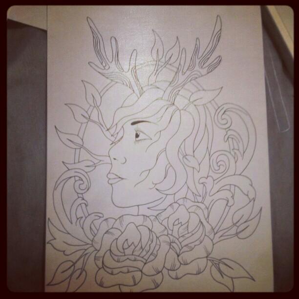 Deer Girl by jjaade