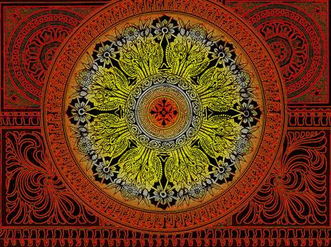 fractal doodle _ Sya Ornamental Brush Set