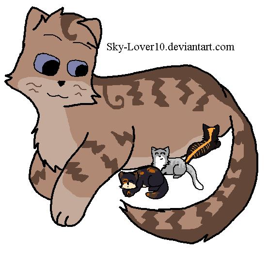 Minnowpond's Kitting by Goldenfeatherwarrior