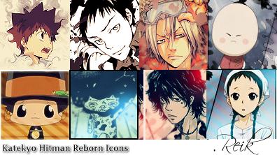 Katekyo H. Reborn Icon Pack by Reik-OSX