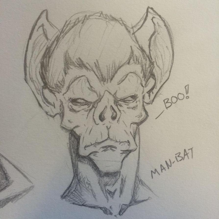 Man-Bat by NathanWest36