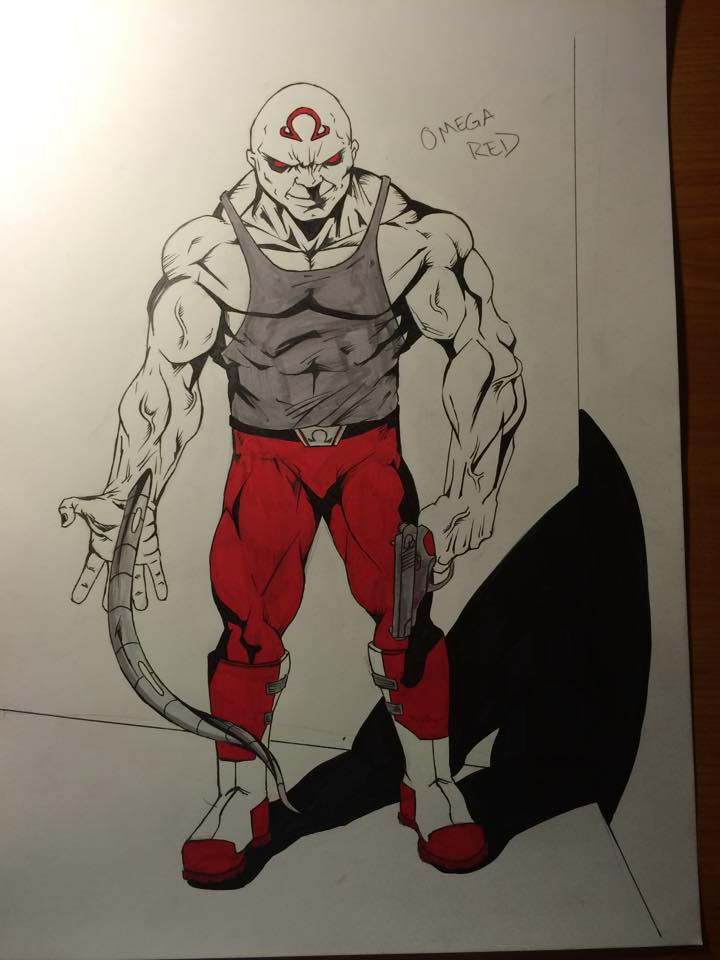 Omega Red (Colored) by NathanWest36