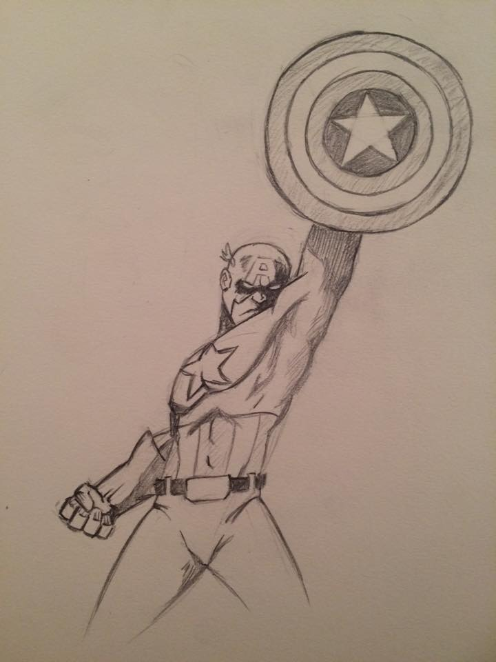 Captain America-Wednesday by NathanWest36
