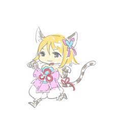 20200905 Lamb Original character trying