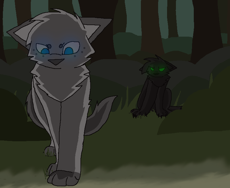 Hollyleaf And Ashfur By Recovery Paws