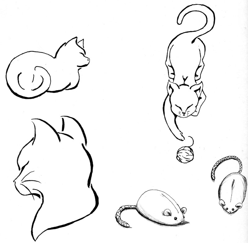 Cat Flash Sheet