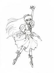 Ballerina Inuyasha by Azayakachan