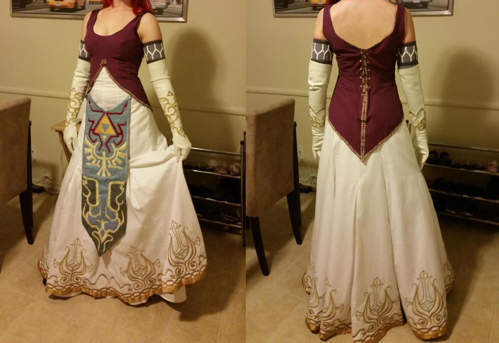 Zelda Costume Twilight Princess Image Is Loading Custom Made The