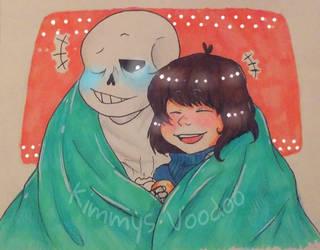 .: Warm Cuddles :. by Kimmys-Voodoo