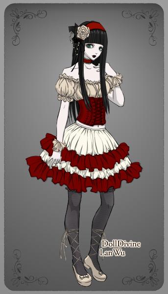 Gothic Lolita by dolldivine