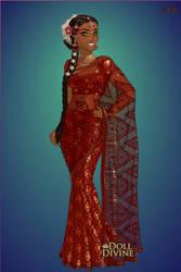 Sari Maker by dolldivine